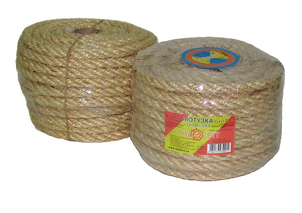 Sisal rope Ø 14mm, 25 meters