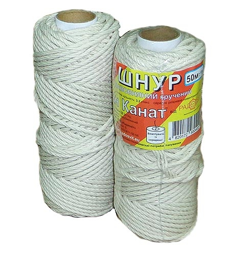 Cotton cord, 50 meters