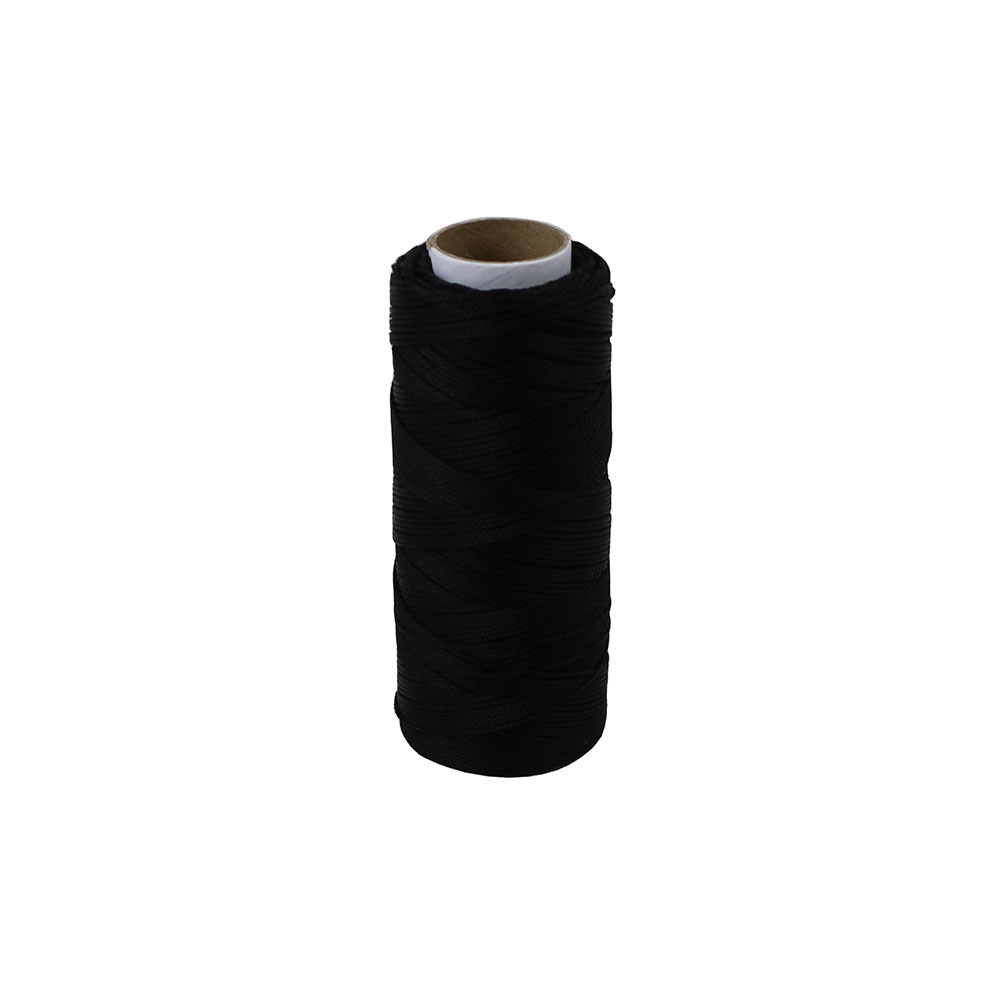 Polypropylene thread black, 165 meters