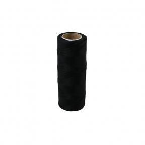 Polyamide thread 375 tex black, 125 meters