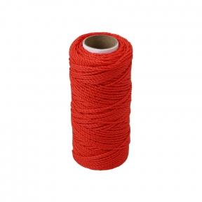 Polypropylene cord orange, 80 meters