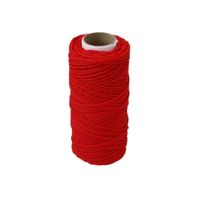 Polypropylene cord red, 80 meters - 17560
