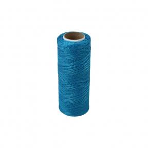 Polyamide thread 187 tex blue, 250 meters