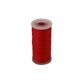 Polyamide thread 375 tex red, 65 meters - 17524
