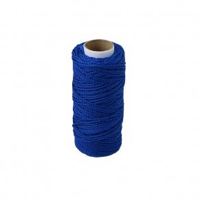 Шнурок поліпропіленовий кручений синій, 80 метрів