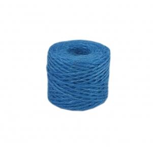 Шпагат джутовий блакитний, 45 метрів