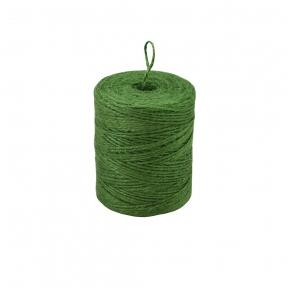 Шпагат джутовий зелений, 250 метрів