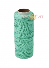 Cotton twine sweet minth color, 45 meters - 17477