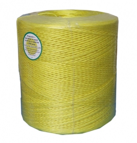 Baller polypropylene twine, 2000 tex, yellow, 2500 meters - 17337