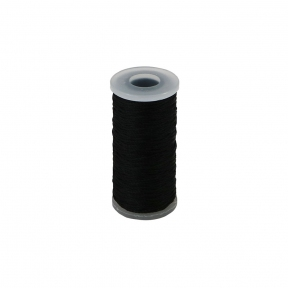 Polyamide thread 375 tex black, 65 meters - 17522