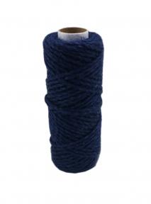 Jute cord blue, 50 meters