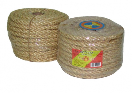 Sisal rope Ø 14mm, 25 meters - 17312
