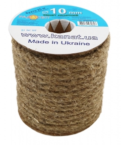 Linen rope Ø 10mm, 25 meters - 17306