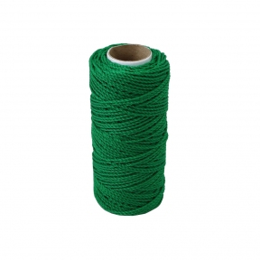 Polypropylene cord green, 80 meters - 17559