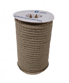 Linen rope diameter 6mm length 25 meters