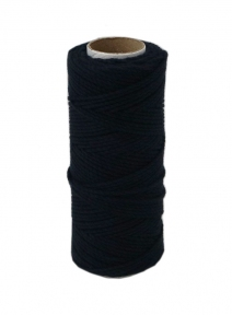 Cotton twine dark blue color, 45 meters - 17481