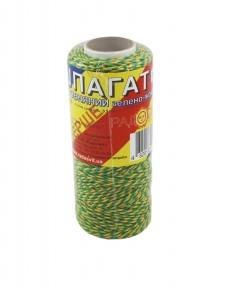 Cotton twine, yellow-green, 100m - 17350