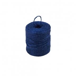 Jute twine blue, 90 meters