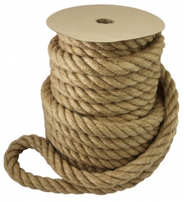 Jute rope Ø 30mm, 25 meters - 17328
