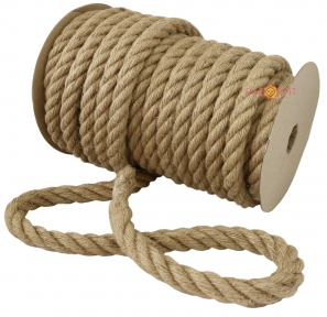Jute rope Ø24mm, 25 meters - 17330