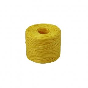 Шпагат поліпропіленовий жовтий, 100 метрів/бобіна