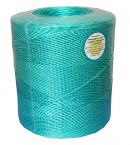Baller polypropylene twine, 2000 tex, green, 2500 meters - 17336