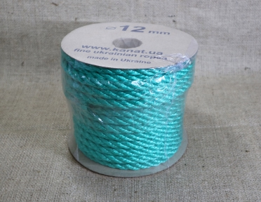 Polypropylene rope d12mm, 25 meters - 17345