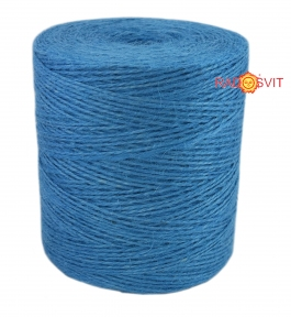 Jute twine light blue, 760 meters - 17511