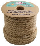 Jute rope Ø 12mm, 25 meters
