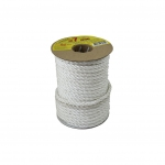 Polypropylene rope diameter 7mm white, 25 meters