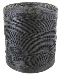 Polypropylene twine black color, 1660 meters in bobbin