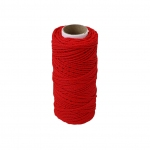 Polypropylene cord red, 80 meters