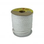 Polypropylene rope 9mm white, 25 meters