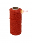Cotton twine red, 45 meters