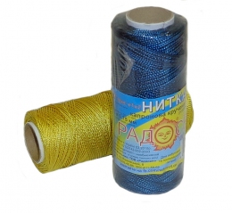 Coloured Caprone thread, 125 meters