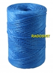 Polypropylene twine, 2000 tex, 250 meters, blue