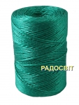 Polypropylene twine, 2000 tex, 250 meters, green