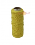 Cotton twine yellow, 45 meters