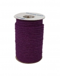 Jute rope purple color, diameter 6 mm, 25 meters