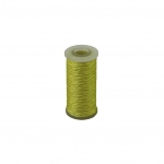 Polyamide thread 375 tex yellow, 65 meters