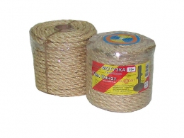 Sisal rope Ø 10mm, 25 meters
