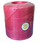 Baller polypropylene twine, 2000 tex, red, 2500 meters