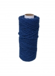 Cotton cord black, 50 meters