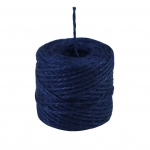 Jute twine in blue color, 45 meters
