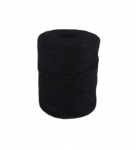 Jute twine in black color, 250 meters