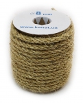 Sisal rope Ø 8mm, 25 meters