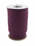 Jute rope purple, diameter 6mm, 25 meters