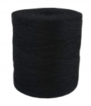 Jute twine in black color, 760 meters