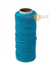 Cotton twine blue, 45 meters