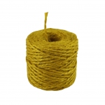 Jute twine in yellow color, 45 meters